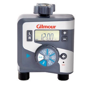 Gilmour Dual Outlet Electronic Water Timer