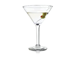 Libbey 10-Ounce Preston Martini Glass