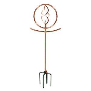 Copper Water Sprinkler - Decorative Spinning Spiral