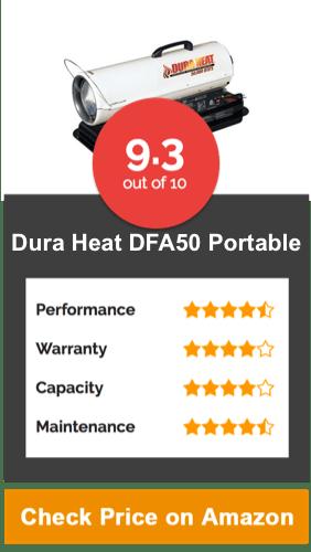 Dura Heat, DFA50 Portable Kerosene Forced Air Heater