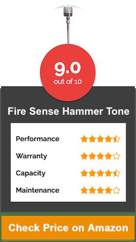 Fire Sense Hammer Tone Bronze Commercial