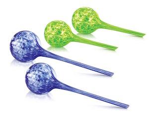 KOVOT Glass Plant Watering Globes Set