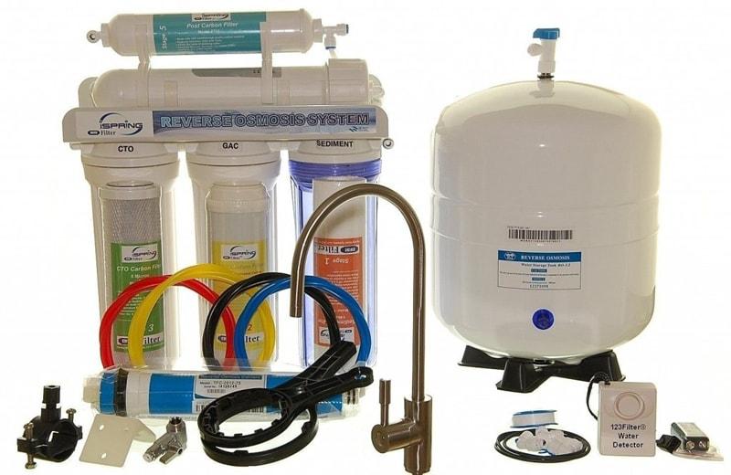 iSpring RCC7 as Best Reverse Osmosis Water Filter