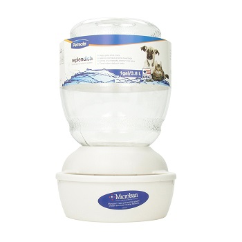Petmate Replendish Gravity Pet Fountain for Cats and Dogs
