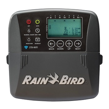 Rain Bird ST8I-WIFI Smart Irrigation Indoor WiFi Sprinkler System