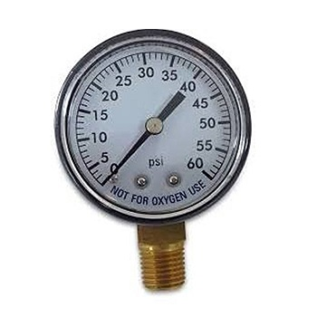 Super Pro 80960BU Pool Spa Filter Water Pressure Gauge