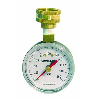 Watts DP IWTG Water Pressure Test Gauge