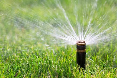How much Water does a Sprinkler Use