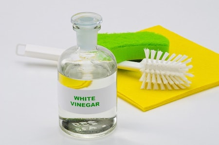 Washing with the Vinegar Solution